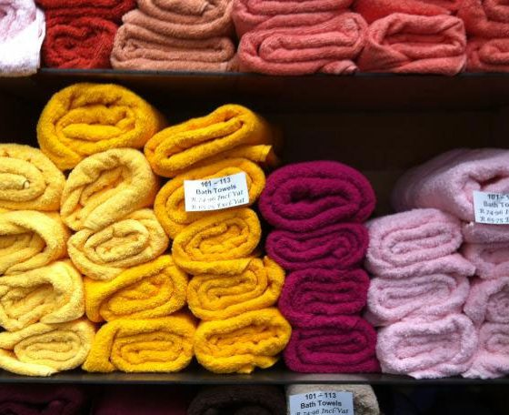 Towels-in-many-colours