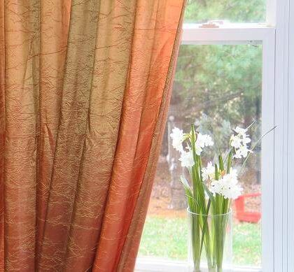 Crush Tafetta Curtain with Lining(Standard)