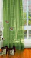 Crush Organza Curtain With Lead weight & Transparent Curtain tape